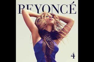 """Beyoncé en Maxime Simoëns sur la couverture de son album """"4"""", en 2011"""