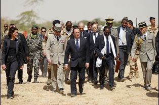 Au Mali, en février 2013