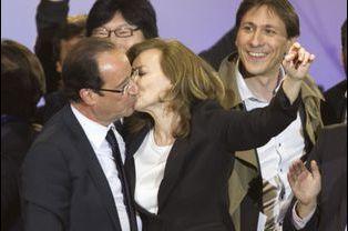 Le baiser de la victoire, le 6 mai 2012