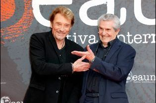 "Johnny Hallyday et Claude Lelouch pour ""Salaud, on t'aime"""