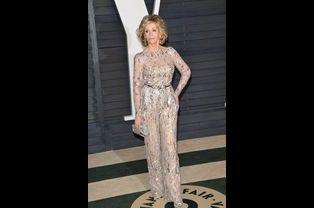 Jane Fonda à Los Angeles le 22 février 2015