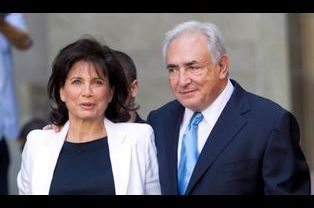 Anne Sinclair et Dominique Strauss-Kahn