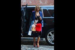 Beyoncé au défilé Adidas par Kanye West à la Fashion Week de New York