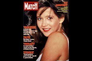 Sophie Marceau pour la couverture du numéro 1767, le 8 avril 1983