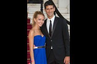 Novak Djokovic et sa compagne