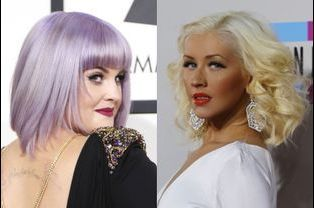 Kelly Osbourne et Christina Aguilera