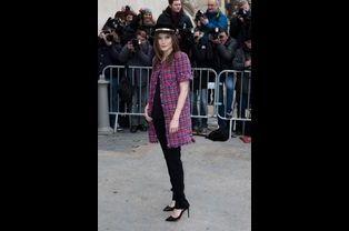 Ana Girardot au défilé Chanel Haute-Couture