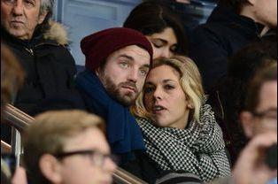 Guillaume Gouix et Alysson Paradis à Paris le 29 novembre 2014