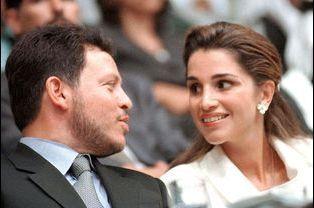 Rania et Abdallah, le 25 mai 1999