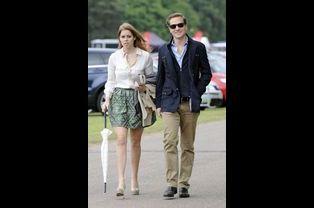 La princesse Beatrice et son petit ami Dave Clark