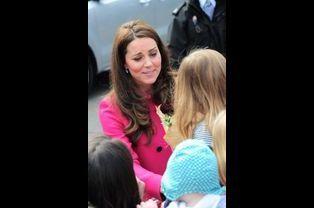 Kate à Gipsy Hill au sud de Londres, le 27 mars 2015