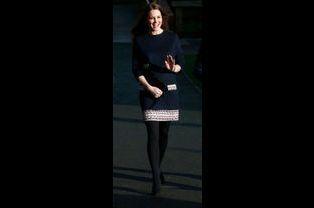 1 La Duchesse De Cambridge, Née Kate Middleton, En Visite À L'école Primaire Barlby, À Londres