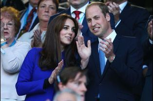 Le prince William et Kate à Londres, le 18 septembre 2015