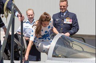 La duchesse Kate le 19 avril 2014