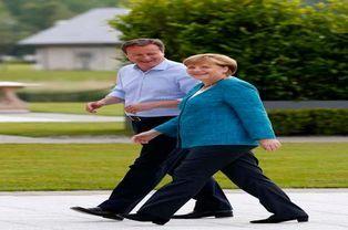 Cameron et Angela Merkel