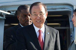 Ban Ki-Moon, secrétaire général à l'ONU