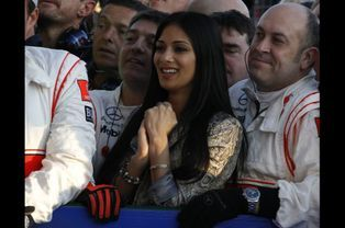 En mars 2011, au Grand prix d'Australie