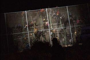 Espagne-Melilla: la liberté à l'arrachée par Santi Palacios