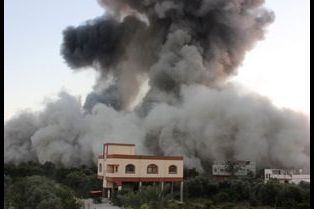 Gaza: la colère de Némésis par Ashraf Amra