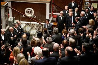 Moments rares à l'Assemblée Nationale