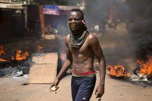 Soulèvement populaire à Ouagadougou