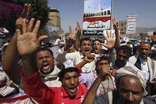 Le président démissionnaire Hadi réfugié à Aden