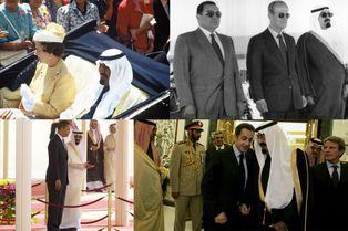 Le roi Abdallah, ami des puissants de ce monde