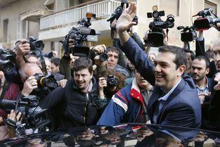 Syriza, grand favori des législatives