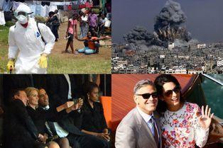 Une année en images avec l'AFP