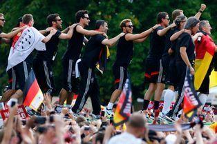 Le retour des héros allemands