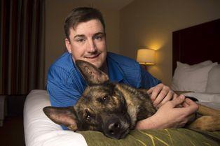 Les émouvantes retrouvailles de Brent et son chien Matty