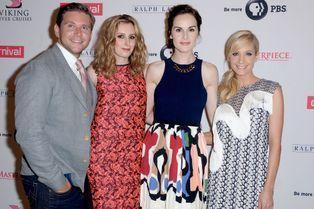 """Les stars de """"Downton Abbey"""" prennent la pose"""
