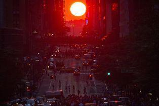 Le solstice de Manhattan