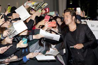 L'Asie en Fury pour Brad Pitt