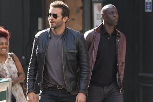 Bradley Cooper et Omar Sy, tournage à Londres