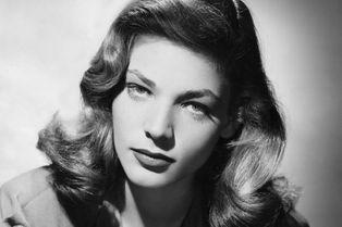 Lauren Bacall, une femme fatale en images