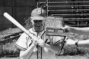 Louis de Funès, star du baseball