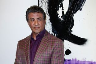 Stallone expose ses toiles à Nice