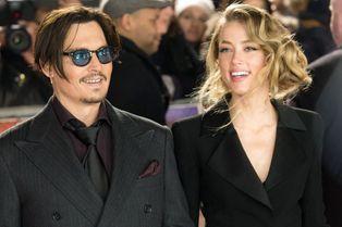 Johnny Depp et Amber Heard. Fous rires sur tapis rouge