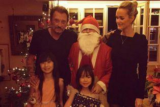 Noël blanc avec Laeticia, Jade et Joyce