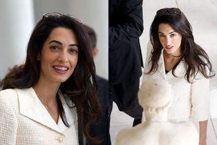 Amal Clooney illumine le musée de l'Acropole