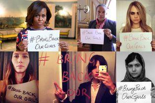 Stars et politiques se mobilisent pour les lycéennes du Nigeria