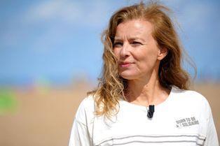 Valérie Trierweiler, à la plage pour la bonne cause