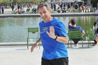 Nicolas Sarkozy: son jogging aux Tuileries en photos