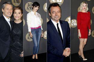 Les stars fêtent Canal+
