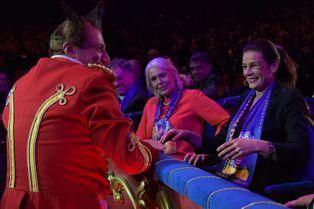Stéphanie lance le 39e Festival du cirque de Monte-Carlo