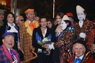Soirée clownesque avec sa fille Camille