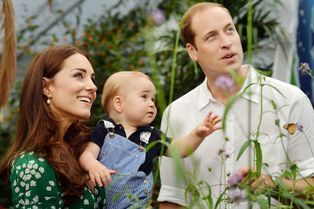 Kate et William, tendres parents