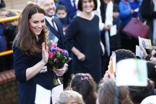 La duchesse de Cambridge fait sa rentrée 2015