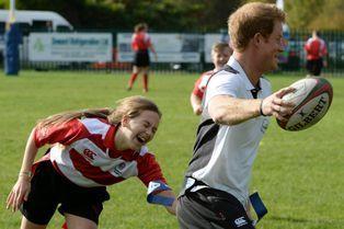 Harry transforme l'essai à Salford